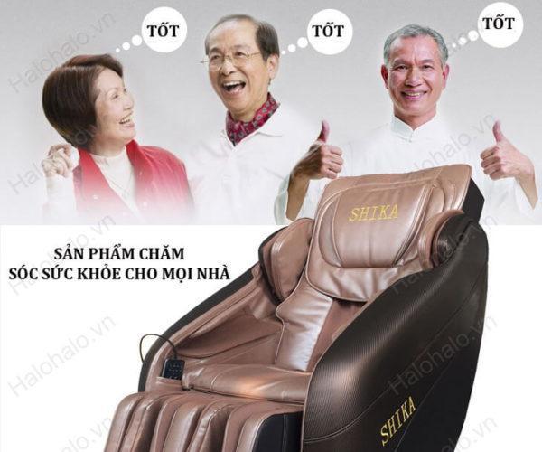 Ghế massage cho người già tốt