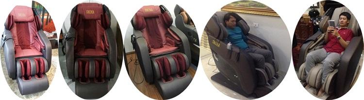 Review khách mua ghế massage shika sk8918