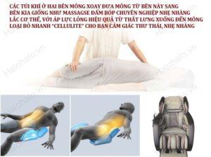 ghế massage toàn thân 3D Shika SK 8918