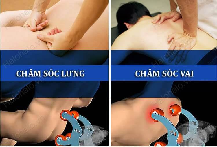 Ghế massage 3D Shika SK-8918