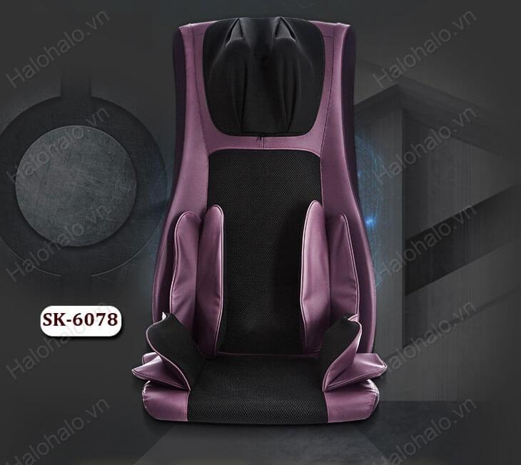 Thiết kế sang trọng lịch sự của ghế massage Shika