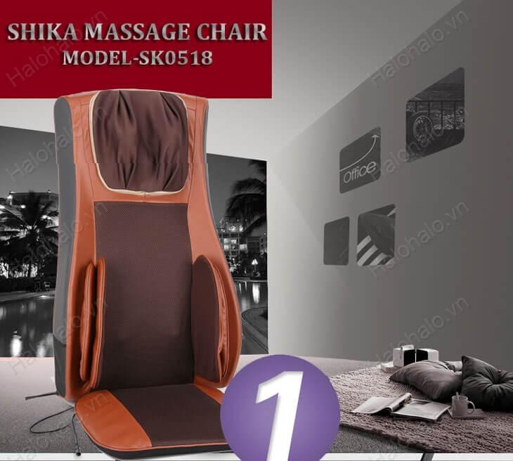 đệm massage shika tại hà nội