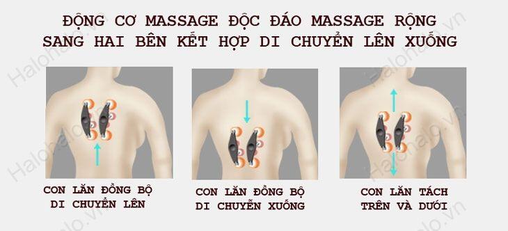 Con lăn masage lưng