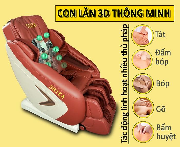 ghế massage toàn thân đấm lưng bóp vai
