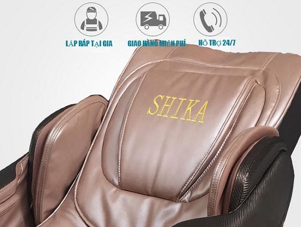 Ghế Massage 3D Shika SK-8916 chất liệu cao cấp