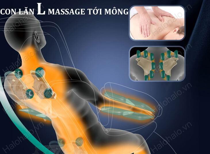 Ghế massage 3D Shika SK-8916