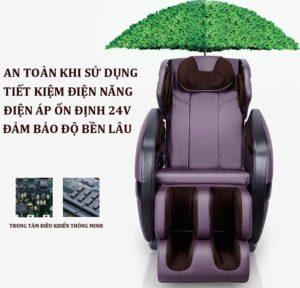 Ghế massage shika SK-816 tiết kiệm điện