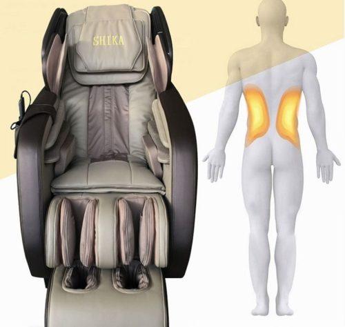 Ghế massage 3d shika sk-8918 matxa từ đầu đến ngón chân