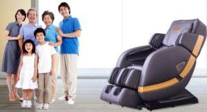 Mẫu ghế massage toàn thân sHIKA-SK-8902 tím