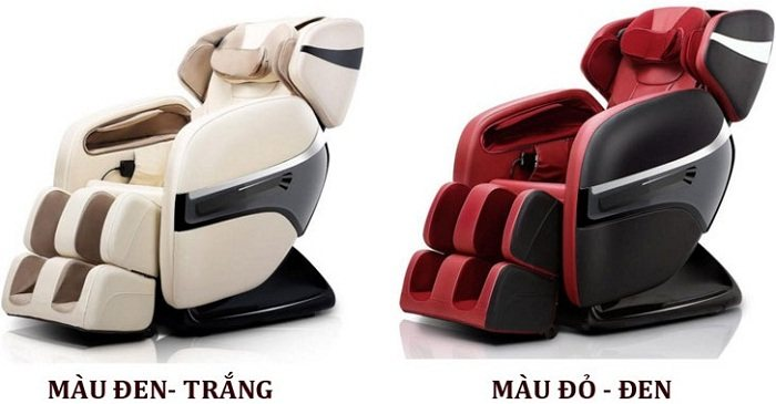 Ghế massage toàn thân shika SK-816 có 3 màu