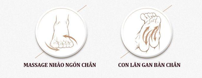 Massage chân rất tốt giảm đau mỏi