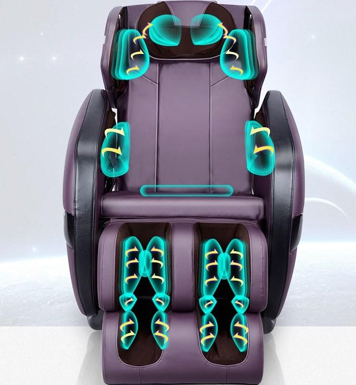 Ghế massage shika SK-816 mát xa túi khí êm