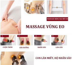 ghế massage Shika SK-8916 mát xa eo