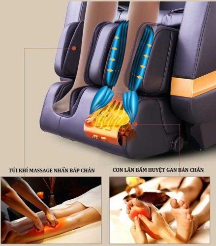 ghế massage shika-sk-8902 mát xa chân
