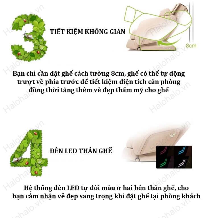 Ghế massage 3D Shika SK-8901