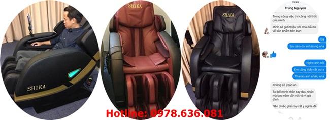 Review của khách hàng về mẫu ghế shika sk8902