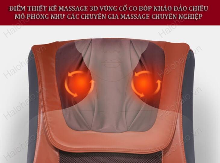 Chức năng massage hồng ngoại