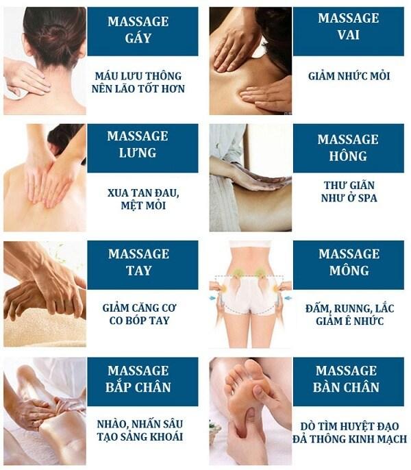 Ghế massage 3D Shika SK-8926
