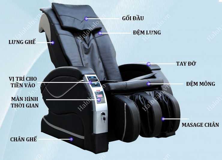 Ghế massage tính tiền Shika Z3