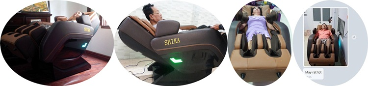 Review ghế massage shika sk-8924