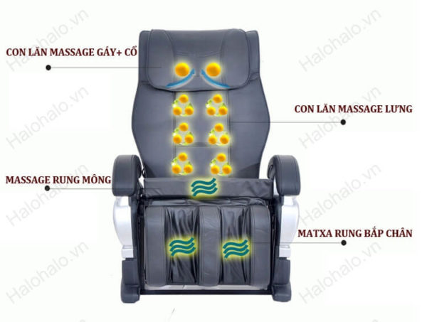 Ghế massage toàn thân loại tốt giá rẻ sk 8900