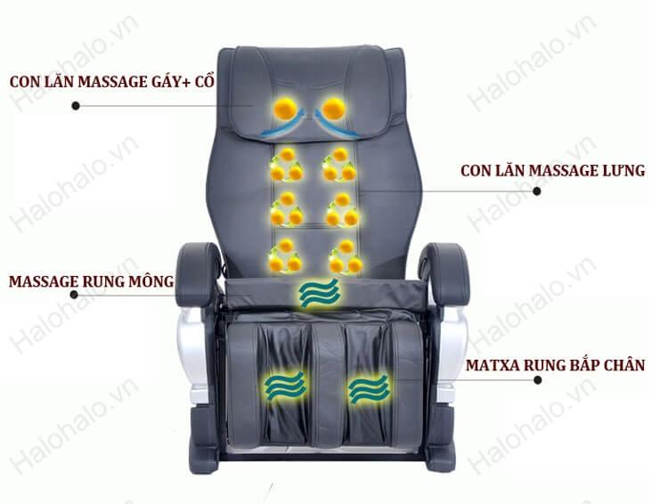 Ghế massage toàn thân loại nào tốt Shika SK 8900