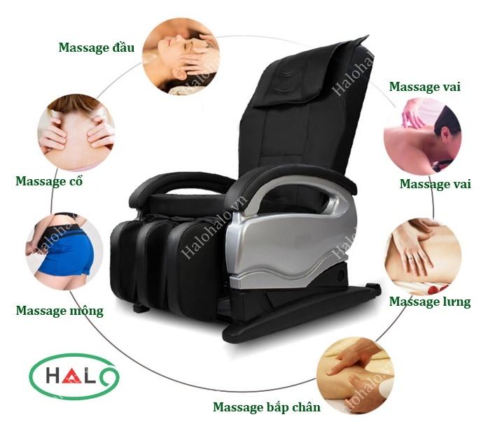 GHẾ massage gintell giá ré