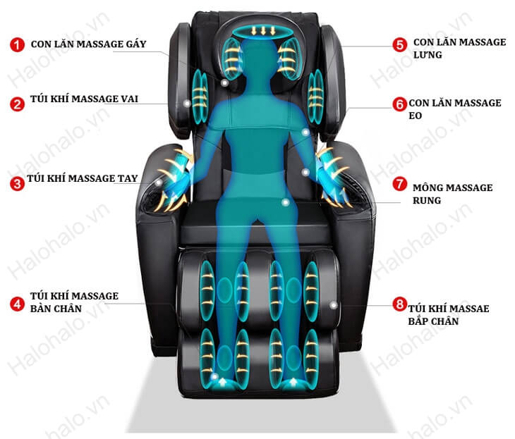 mua ghế massage loại tốt