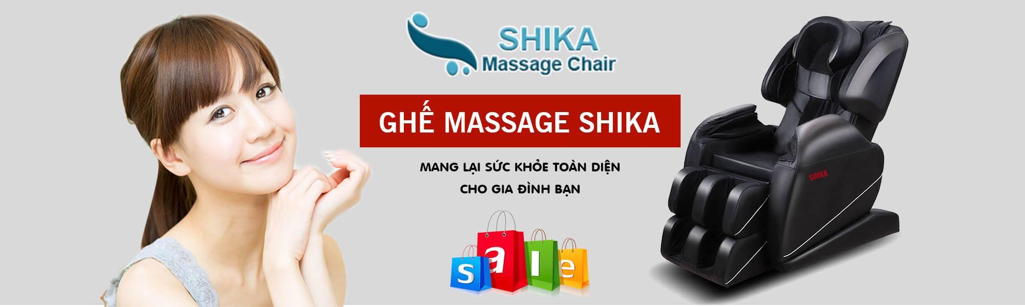 bán ghế massage shika ở sài gòn