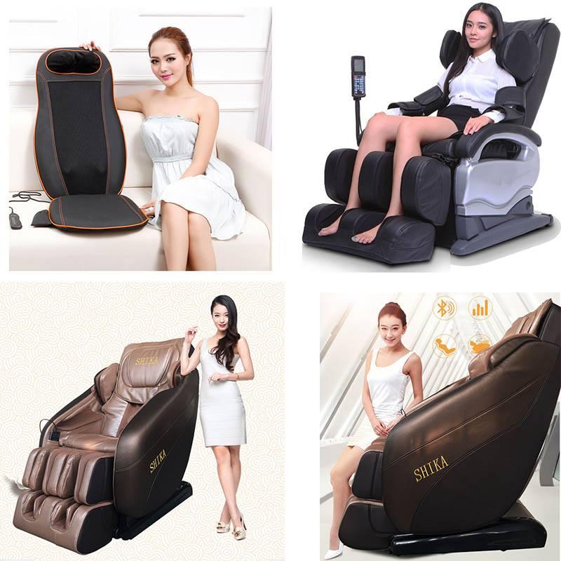 ghế massage Shika để đẹp và thành công