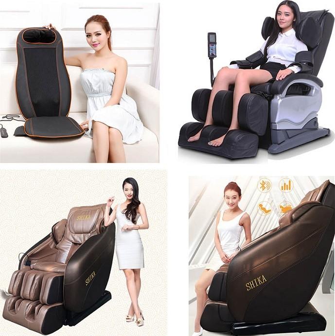 Ghế massage Shika cho chị em trẻ đẹp hơn