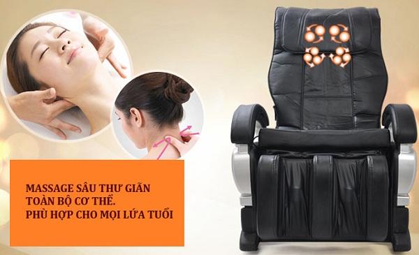 Dùng ghế massage thư giãn làm đẹp tại sao không?