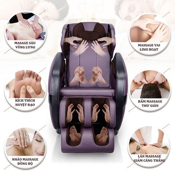 Ghế massage tốt cho chị em phụ nữ
