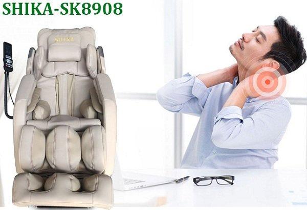 Anh ấy đã cải thiện sinh lý nhờ ghế massage