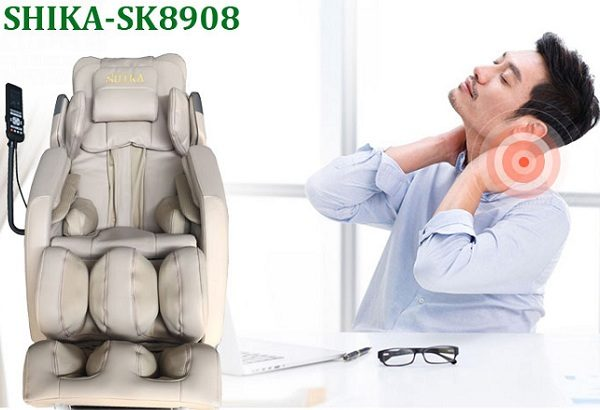 Ghế massage văn phòng giảm nhức mỏi vai gáy