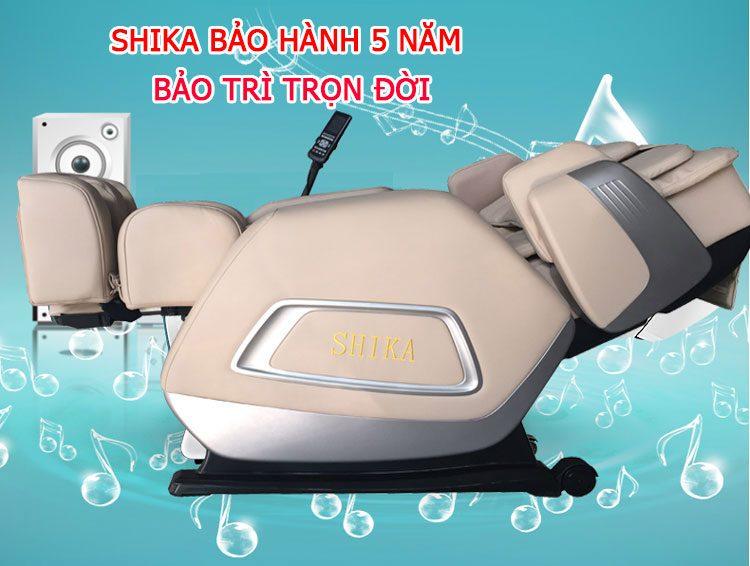 bảo hành ghế massage tại nhà shika