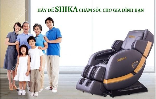 Ghế massage chăm sóc và bảo vệ sức khỏe gia đình