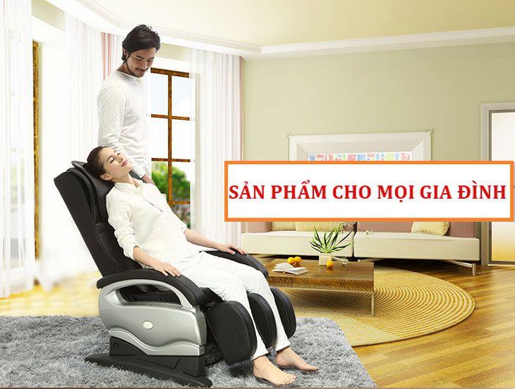 Cảm nhận ghế massage Shika