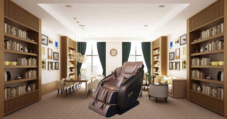 Đánh giá ghế massage cao cấp phù hợp với không gian người sử dụng