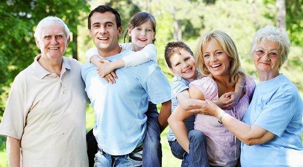 bí quyết sống vui khỏe cho cả gia đình
