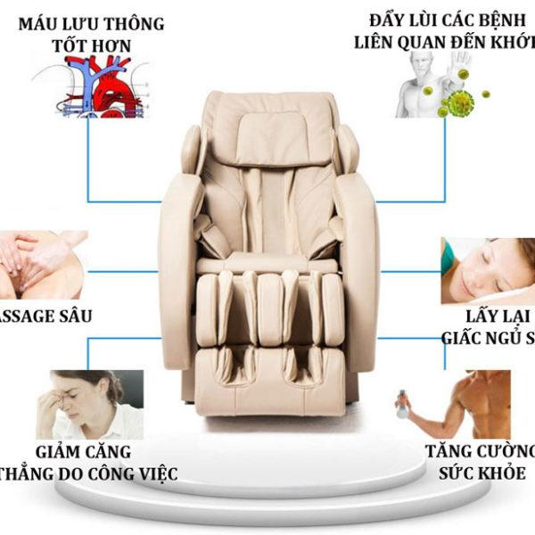 chăm sóc sức khỏe ghế massage