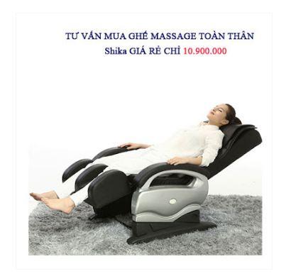 ghế masage giá rẻ Shika