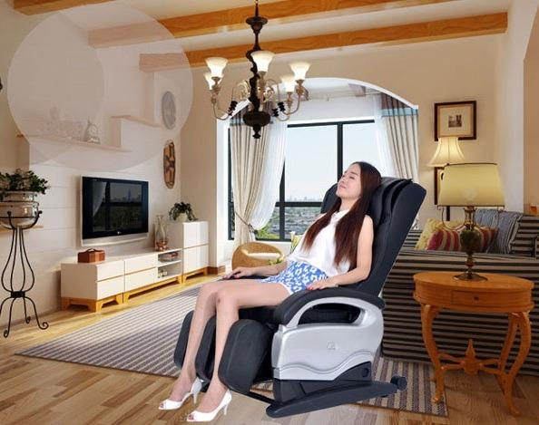 Ghế massage có những công dụng kỳ diệu