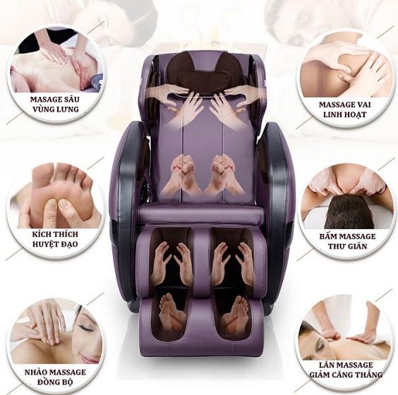 Ghế massage Nhật Bản tốt cho sức khỏe