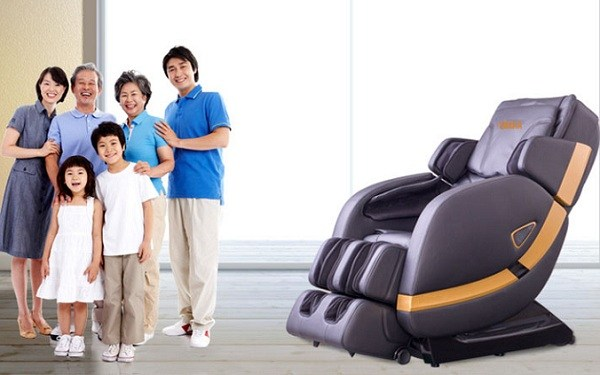 Ghế massage shika cho cả gia đình