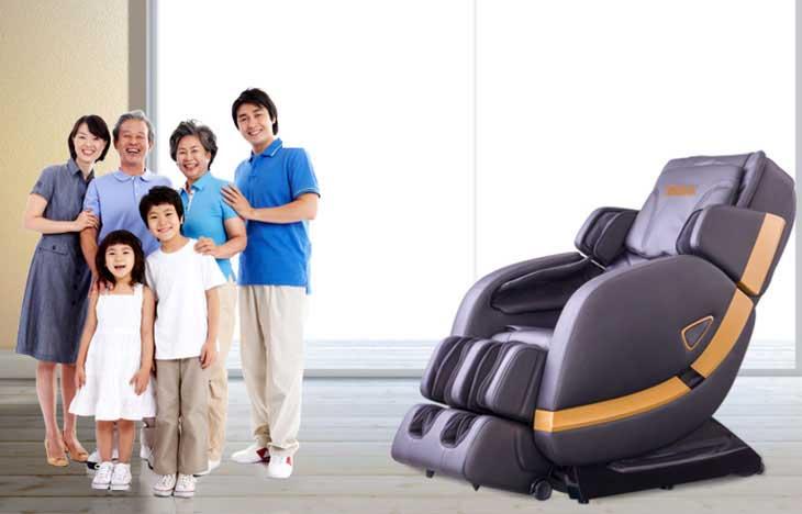 ghế massage tại nhà chọn ghế massage nào tốt nhất