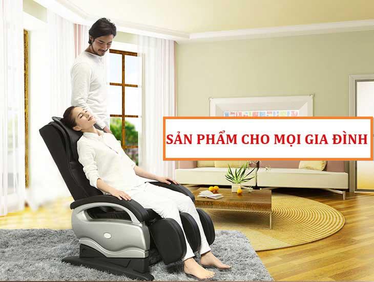 Ghế massage tại chon ghế massage loại nào tốt nhất