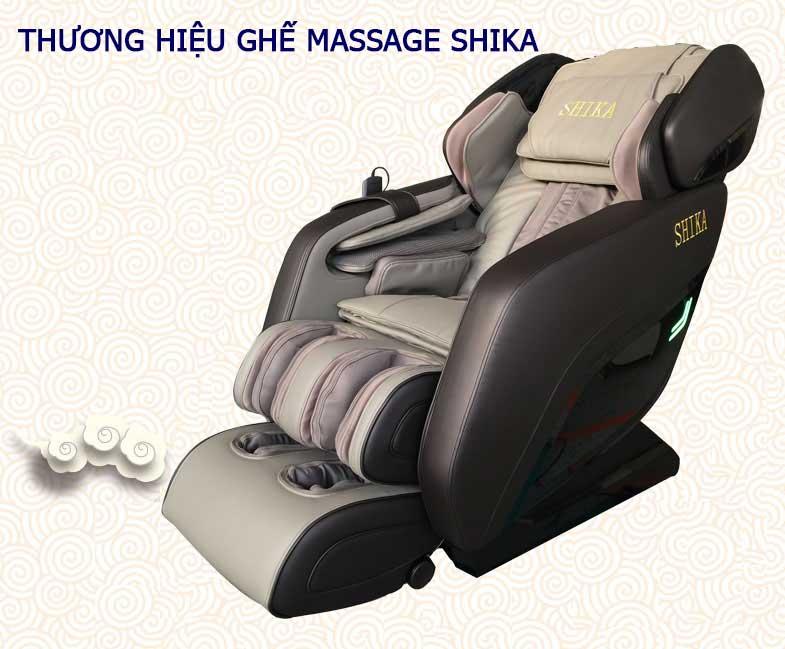 ghế massage tại nhà thương hiệu ghế massage shika