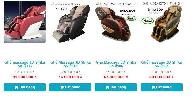 ghế massage toàn thân bao nhiêu tiền ghế massage cao cấp