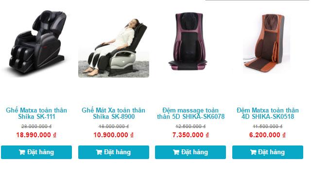 ghế massage toàn thân giá bao nhiêu tiền ghế massage giá rẻ